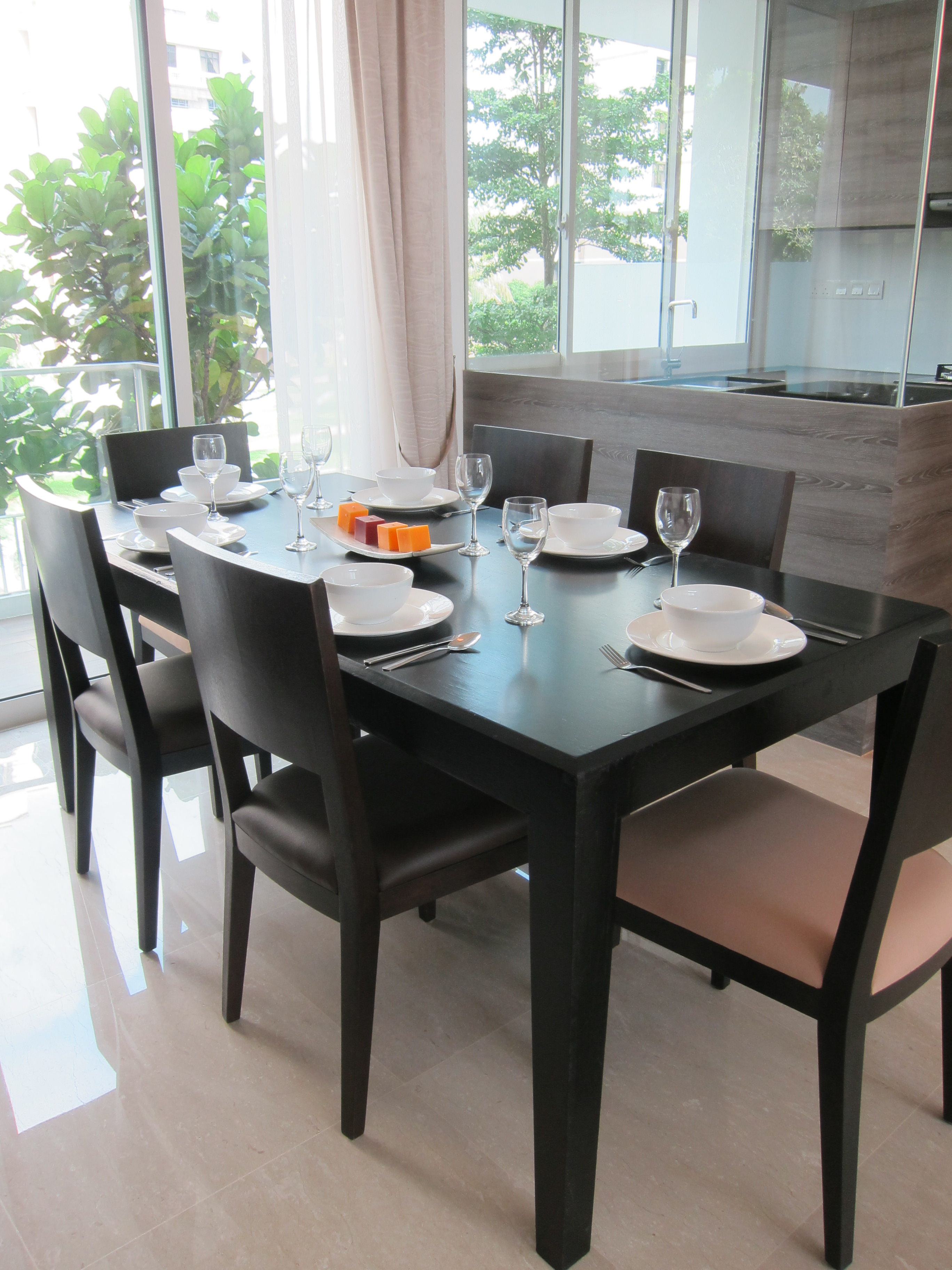 Product Tapered Legs Dining Table